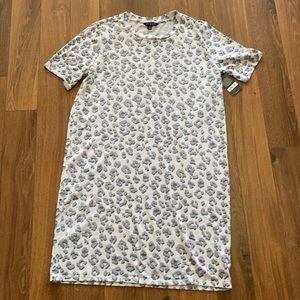 🆕  Lucky Brand leopard print tee dress